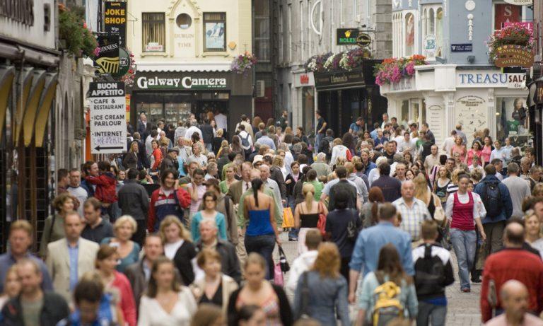 Shopping in Irlanda