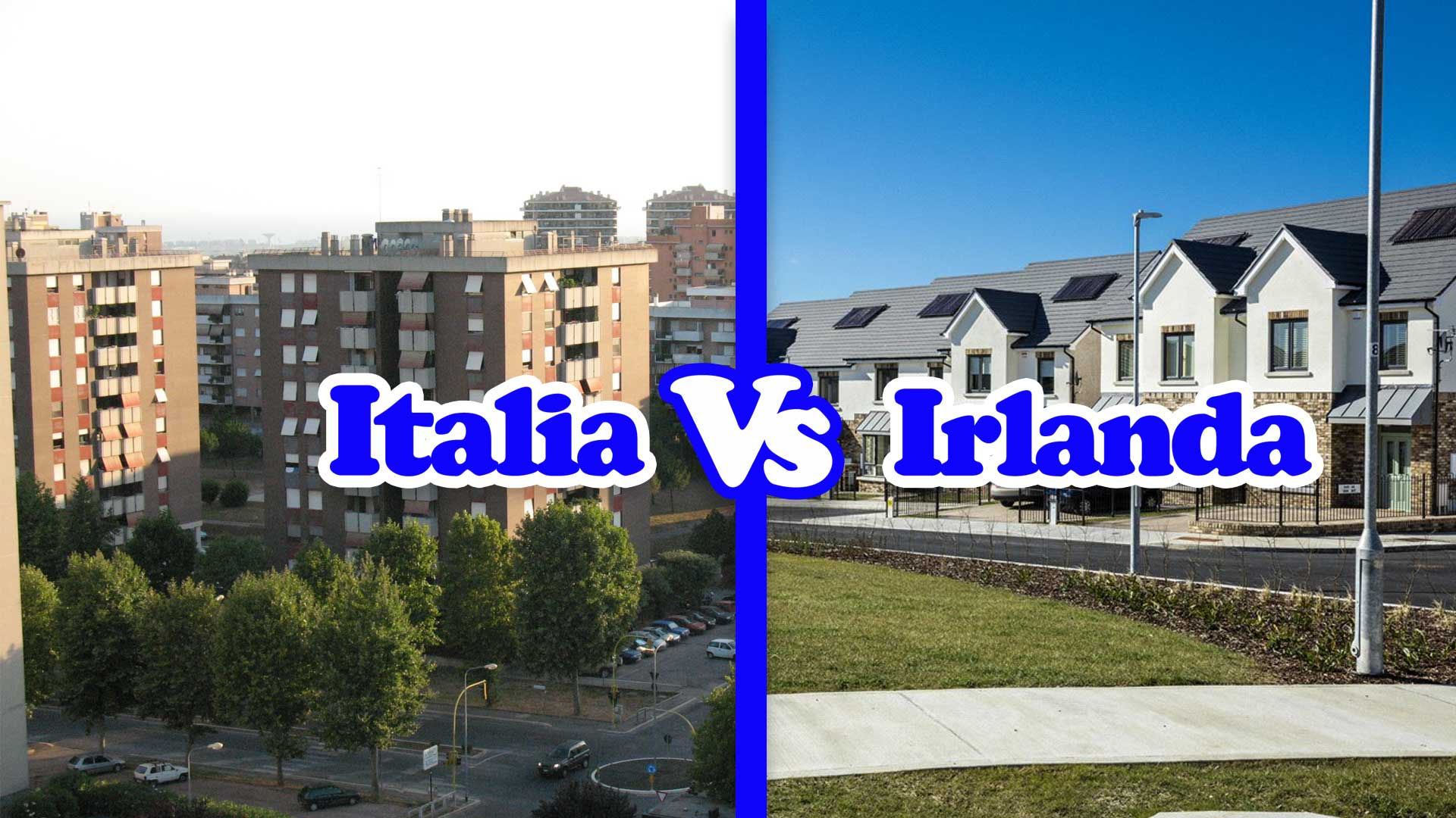 Italia Vs Irlanda – La casa