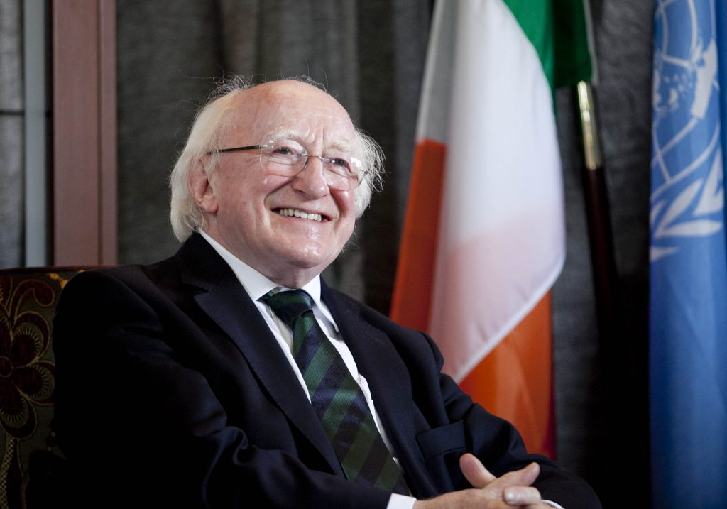 Presidente Irlandese