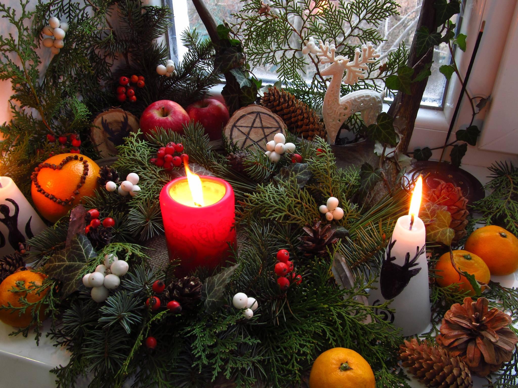 Albero Di Natale Yule.Yule Un Italiano A Sligo