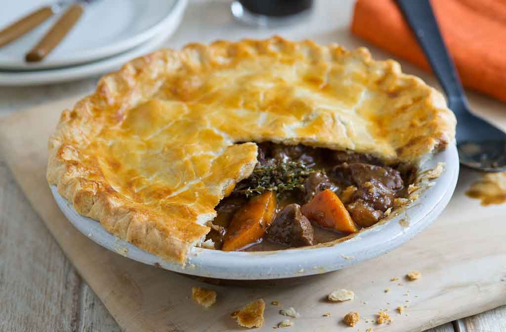 Ricette Irlandesi Beef and Guinness Pie