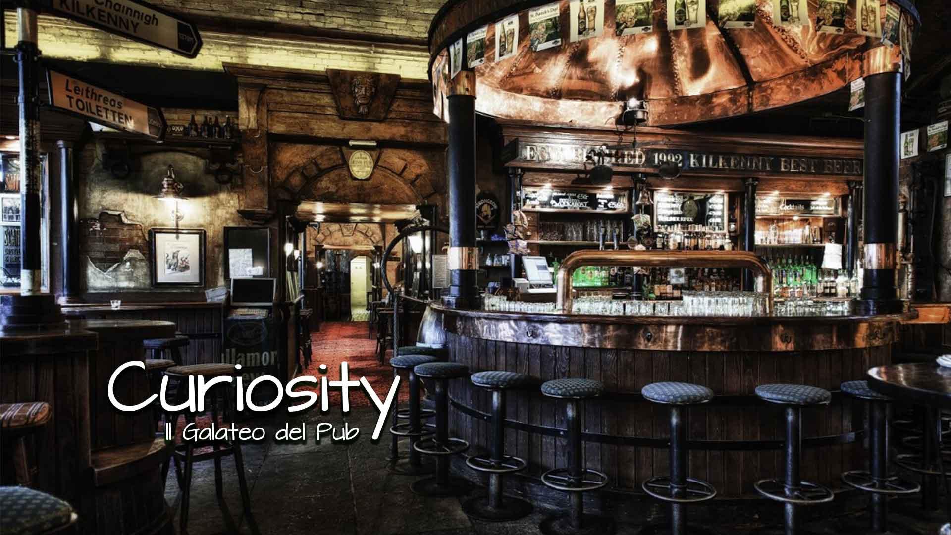 Curiosity – Il Galateo del Pub
