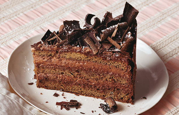Irish Cream Chocolate Mousse Cake