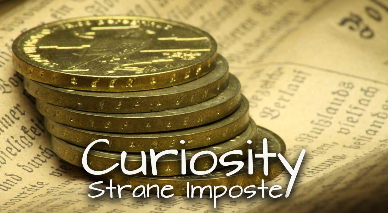 Curiosity – Strane Imposte
