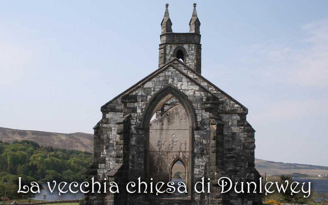 La vecchia chiesa di Dunlewey